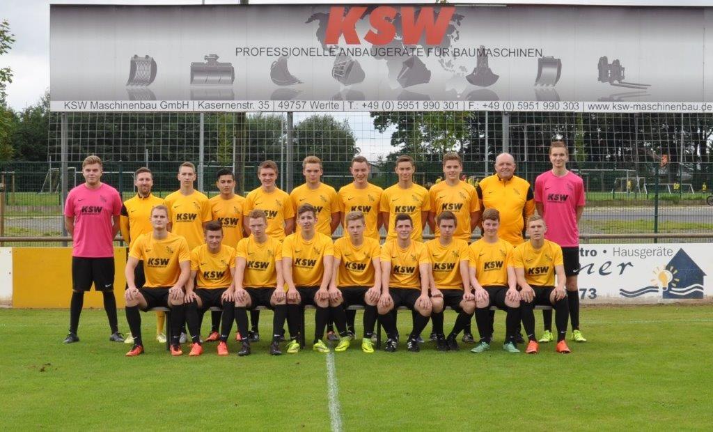 Topspiel in der A-Junioren Bezirksliga Weser-Ems III