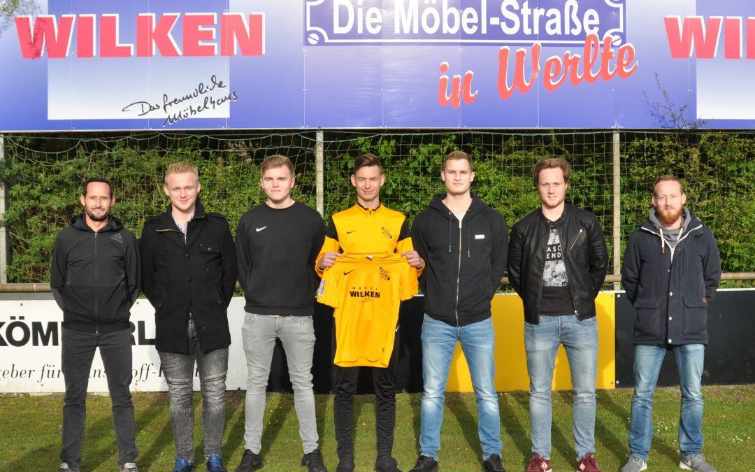 Sparta Werlte 1. Herren – Neuzugänge für neue Saison 2017/18