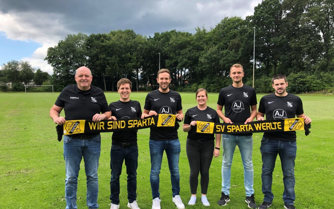 SV Sparta Werlte stellt Trainerteam für inklusive Sportgruppe vor!